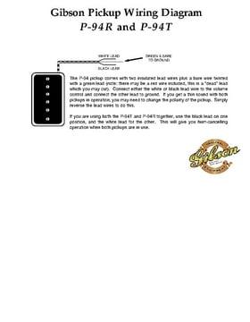 Gibson P94R BC Pickup – Thomann United States