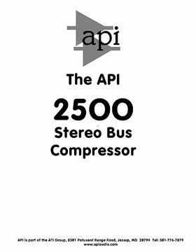 API Audio 2500