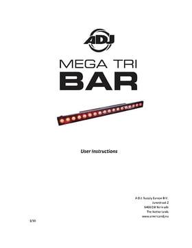 ADJ Mega TRI Bar
