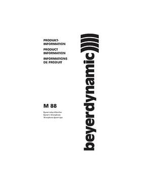 beyerdynamic M88TG