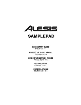 Alesis SamplePad Percussion Multi Pad