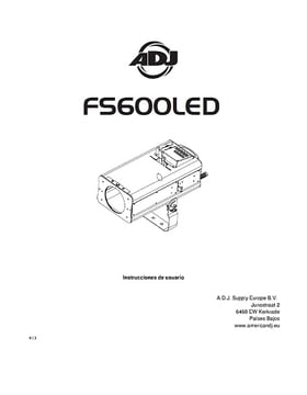 ADJ FS600LED Follow Spot LED