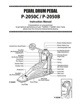 Pearl P-2050C Eliminator Pedal