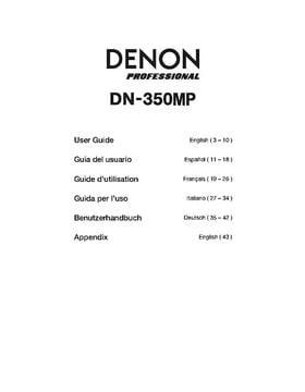 Denon DN-350MP