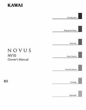 Kawai Novus NV-10