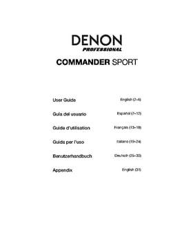 Denon Commander Sport