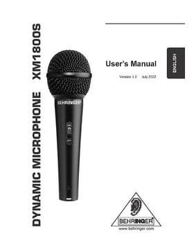 Behringer XM1800S Set
