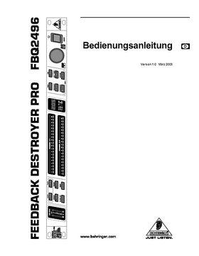 Behringer FBQ 2496 Feedback Destroyer