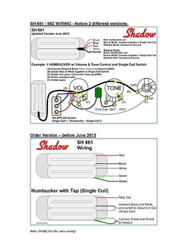 Emg Wiring Diagram 5 Way To EMG Wiring Guide Wiring