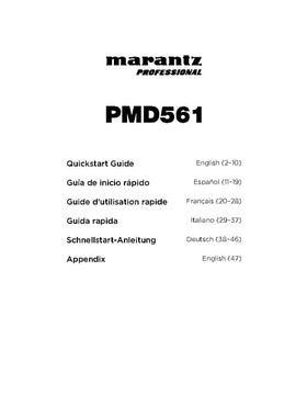 Marantz Pro PMD 561