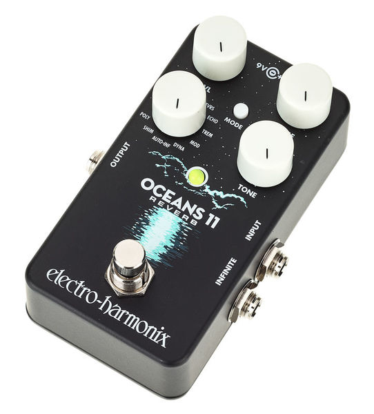 The arctic, atlantic, indian, pacific and southern. Electro Harmonix Oceans 11 Reverb Thomann Sverige