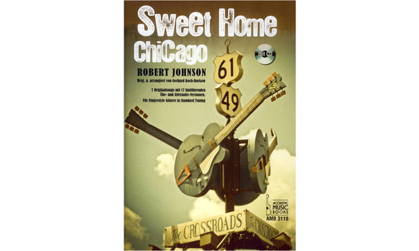 The delta blues is an older acoustic blues style that started much earlier. Acoustic Music Books Sweet Home Chicago Thomann Uk