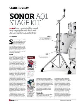 Sonor AQ1 Stage Set Piano White