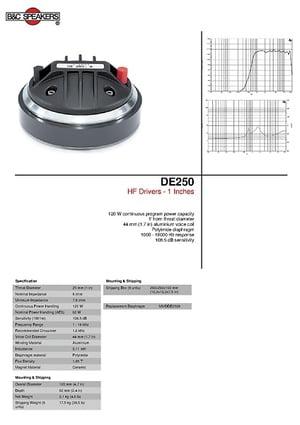 B&C DE 250