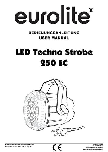 Eurolite LED Techno Strobe 250 EC