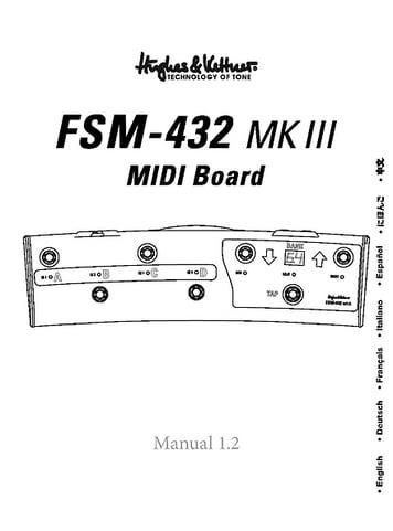 Hughes&Kettner FSM 432 MKIII
