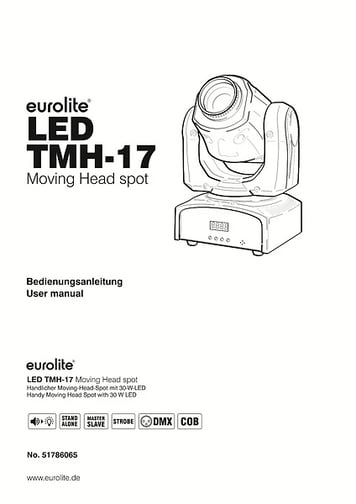 Eurolite LED TMH-17 Spot Movinghead