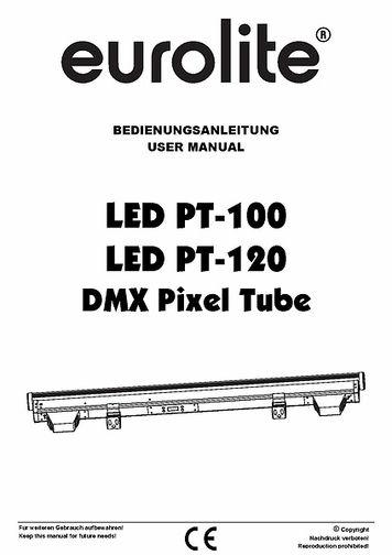 Eurolite LED PT-100 DMX Pixel Tube