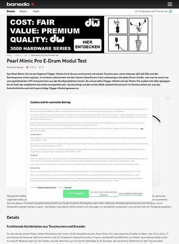 Pearl Mimic Pro