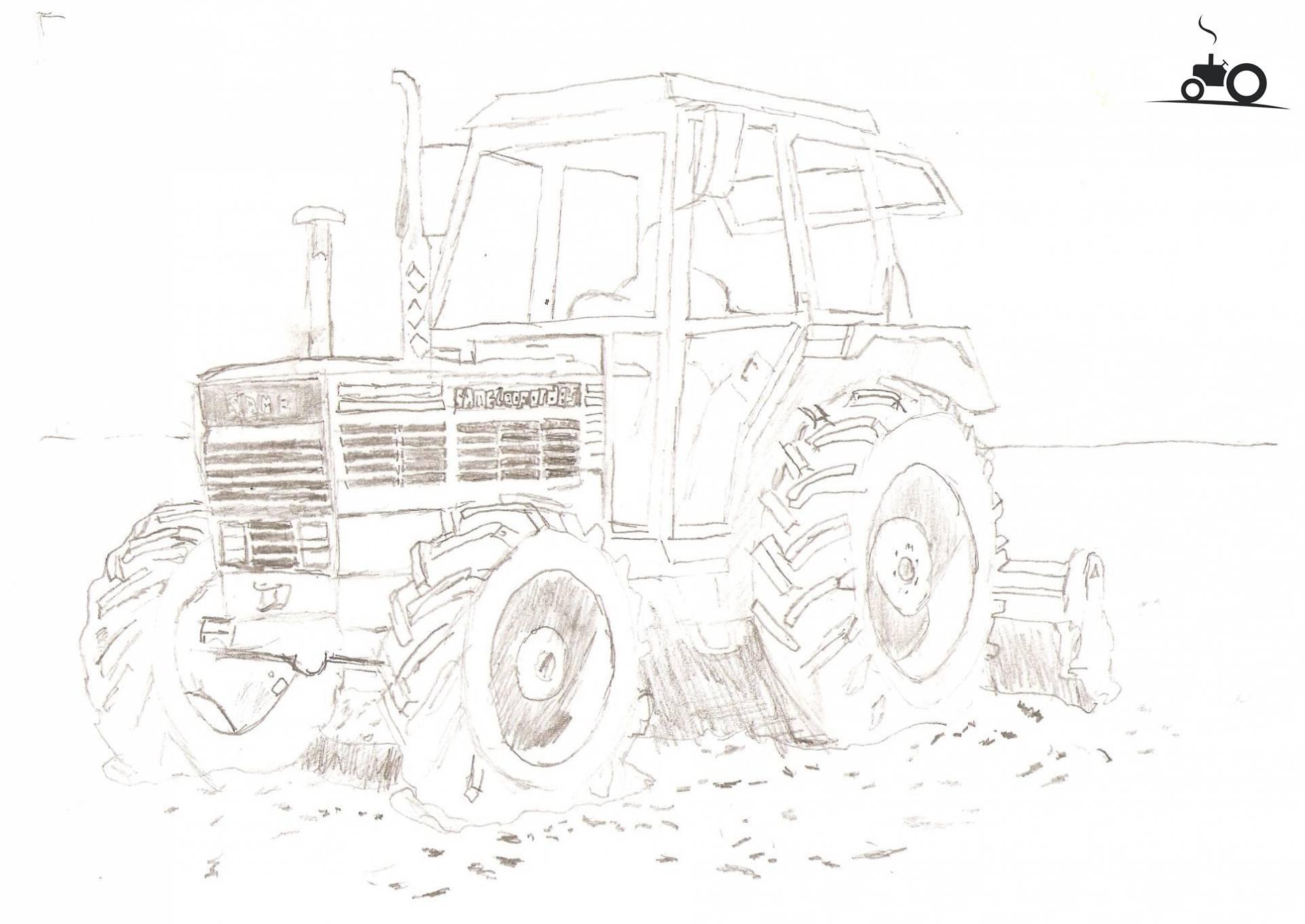 Foto Tractors Tekening #595447