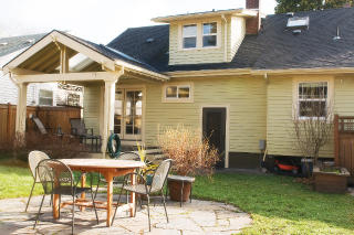 the estate of things chooses portland bungalow backyard