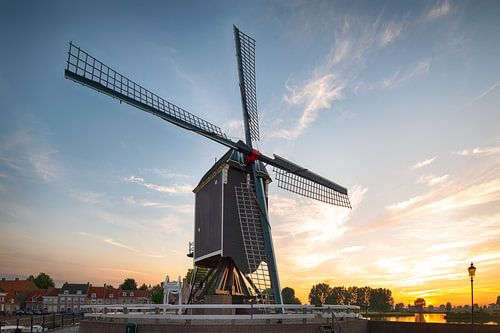 Houten molen in Heusden