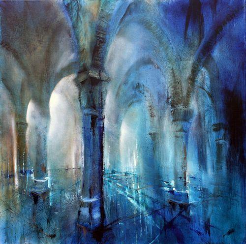 Blaue Säulenhalle