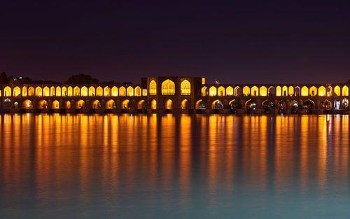 Iran, Esfahan - Khaju bridge