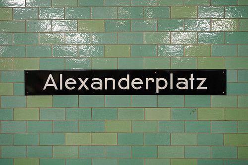 Alexanderplatz metro tegels