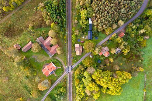 Luchtfoto Zweden