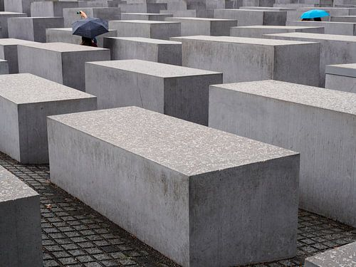Holocaustmonument in Berlijn,