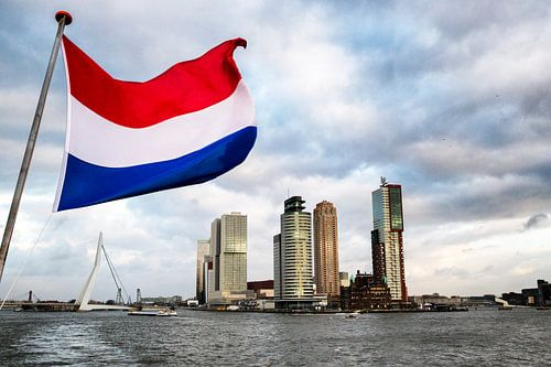 Skyline Rotterdam - Port of Europe