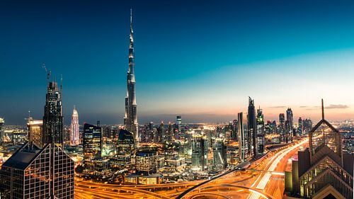 De Dubai Skyline