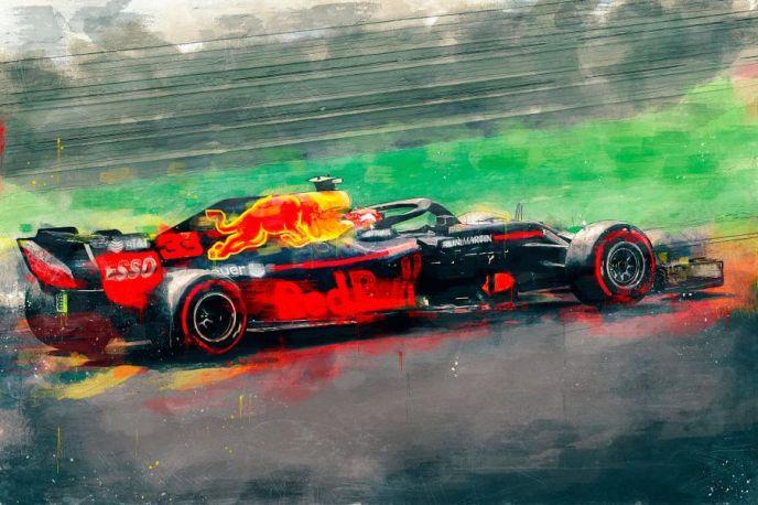 Red Bull Max Verstappen