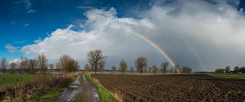 regen en zonneschijn