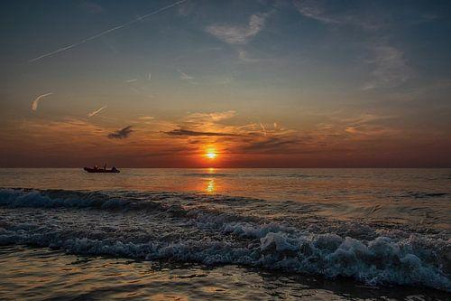 Zonsondergang op Kijkduin