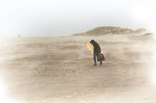 Heel alleen in de storm
