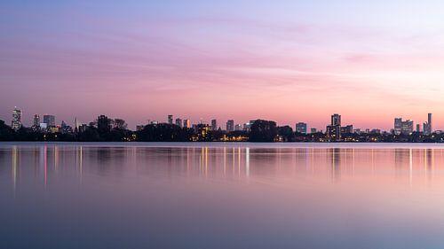 Rotterdamse zonsondergang