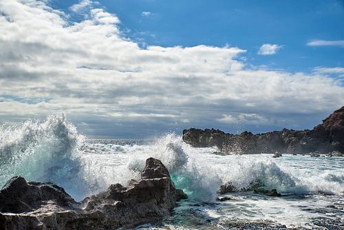 De kust van Lanzarote