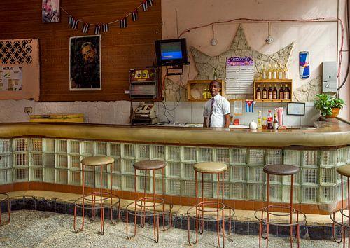 Cuba, Havana. The bar.