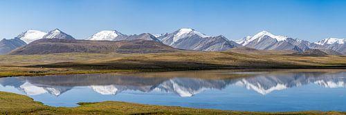 Bergpanorama Kirgizië