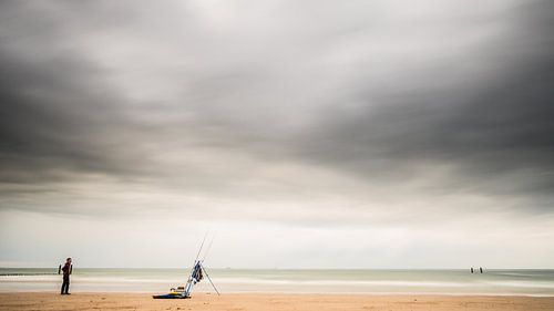 The lonely fisherman (kleur)