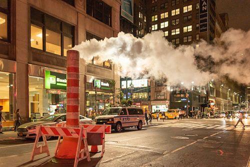 Stoompijp in New York(manhattan)
