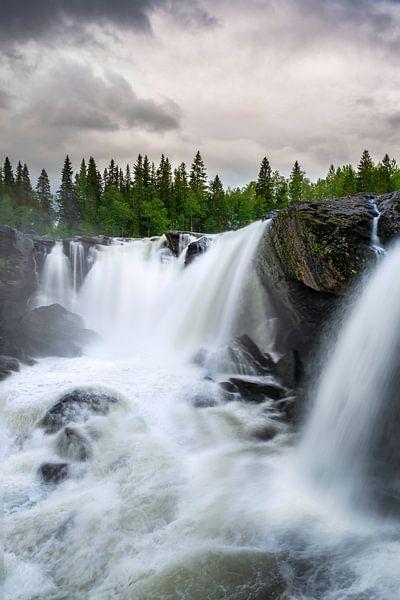 Ristafallet waterval Zweden