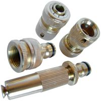 Brass Hose Pipe Fitting Set/ Garden Tap Hosepipe Quick ...