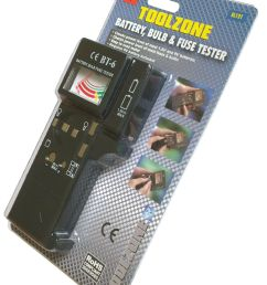 battery bulb fuse tester continuity test bulbs load test 1 5v aaa aa 9v [ 1600 x 1600 Pixel ]
