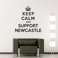 newcastle wall stickers