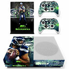 Choose Console - Seattle Seahawks - Vinyl Skin + 2 Controller Skins [0184]
