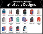 Jamberry Nail Wraps In-Stock Selection of 4TH OF JULY Designs ~ HALF SHEETS
