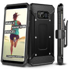For Samsung Galaxy S8 S8+ Case Evocel Full Body Armor Case w Rugged Holster